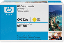 HP 641A (C9722A) Yellow Original Toner Cartridge in Retail Packaging