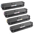 Remanufactured Replacement for HP 307A (Bk, C, M, Y) Set of 4 Toners