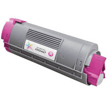 Compatible Okidata 43324467 Magenta Laser Toner Cartridges for the Oki C6000, C6050 4K Page Yield