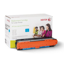 Xerox Premium Remanufactured Replacement Cyan Toner for the HP CE271A (650A) u2013 Made in the U.S.