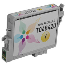 Remanufactured Epson T048420 (T0484) Yellow Ink Cartridges