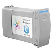 Remanufactured Replacement Ink Cartridge for Hewlett Packard C4846A (HP 80) 350ml Cyan