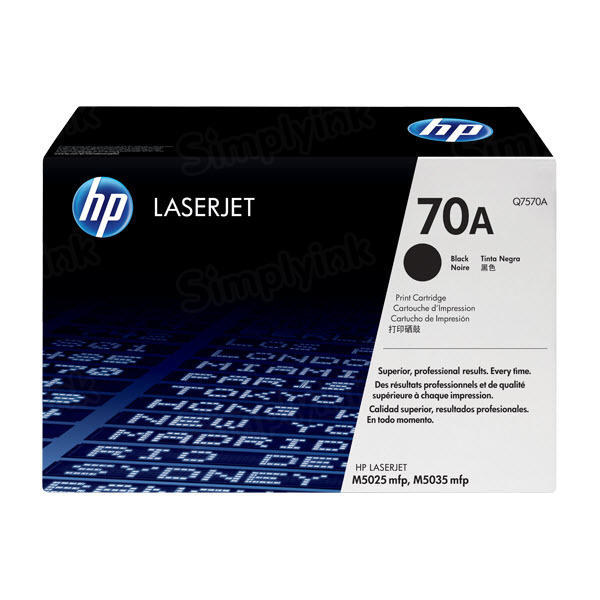 Original HP Q7570A (70A) Black Toner