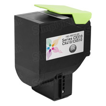 Lexmark Remanufactured Black Laser Toner Cartridge, 80C1SK0 (CX310/CX410/CX510 Series) (2.5K Page Yield)