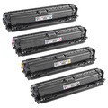 Remanufactured Replacement for HP 650A (Bk, C, M, Y) Set of 4 Toners