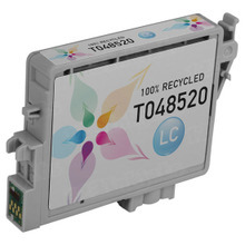 Remanufactured Epson T048520 (T0485) Light Cyan Ink Cartridges