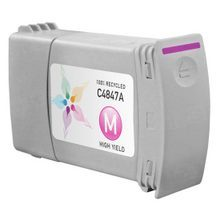 Remanufactured Replacement Ink Cartridge for Hewlett Packard C4847A (HP 80) 350ml Magenta