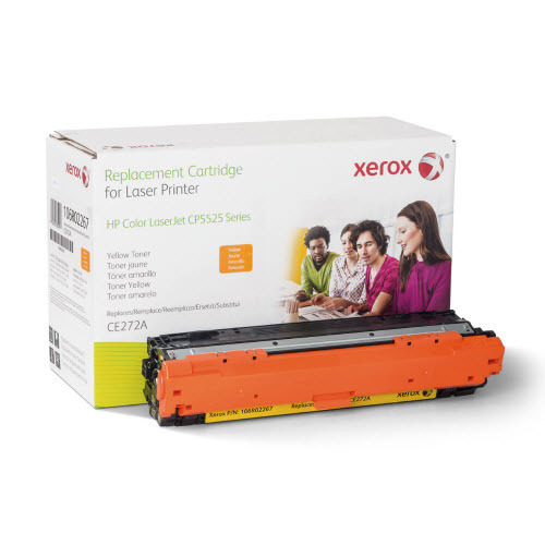 Xerox Remanufactured Yellow Laser Toner for Hewlett Packard CE272A