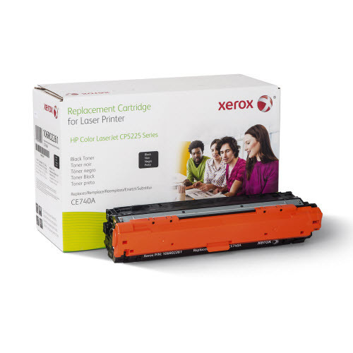 Xerox Remanufactured Black Laser Toner for Hewlett Packard CE740A