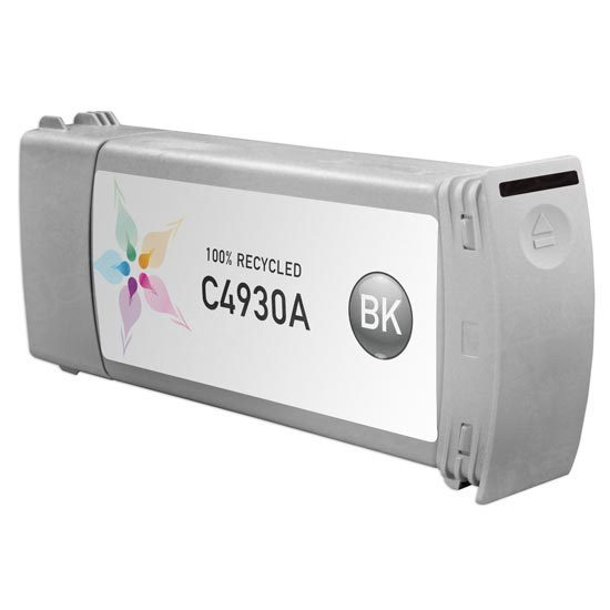 Remanufactured Replacement Black Ink for HP 81