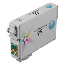Remanufactured Epson T099220 (T0992) Cyan Ink Cartridges