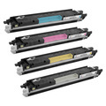 Remanufactured Replacement for HP 126A (Bk, C, M, Y) Set of 4 Toners