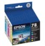 Epson 78 Color OEM Ink Cartridge 5PK