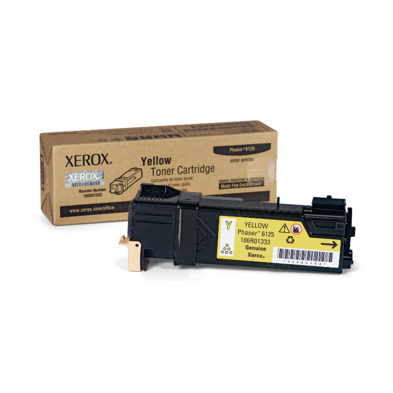Xerox 106R01333 (106R1333) Yellow OEM Toner Cartridge