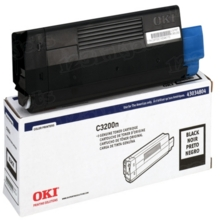 Original Black Type C6 Laser Toner Cartridge for Okidata 43034804 1.5K Page Yield