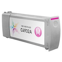 Remanufactured Replacement Ink Cartridge for Hewlett Packard C4932A (HP 81) Magenta