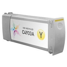 Remanufactured Replacement Ink Cartridge for Hewlett Packard C4933A (HP 81) Yellow