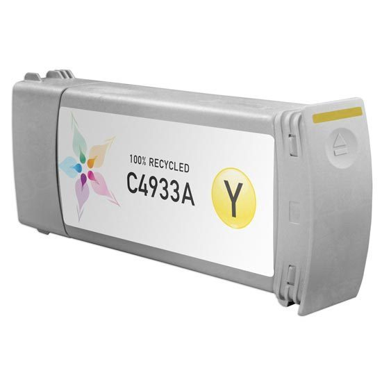Remanufactured Replacement Yellow Ink for HP 81
