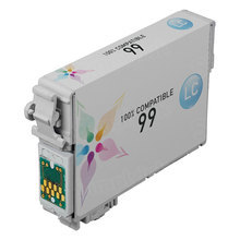 Remanufactured Epson T099520 (T0995) Light Cyan Ink Cartridges