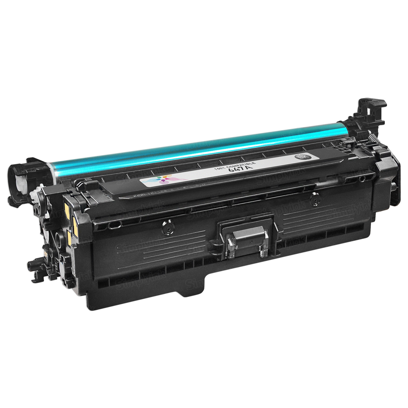 Remanufactured Replacement Black Laser Toner for HP 647A