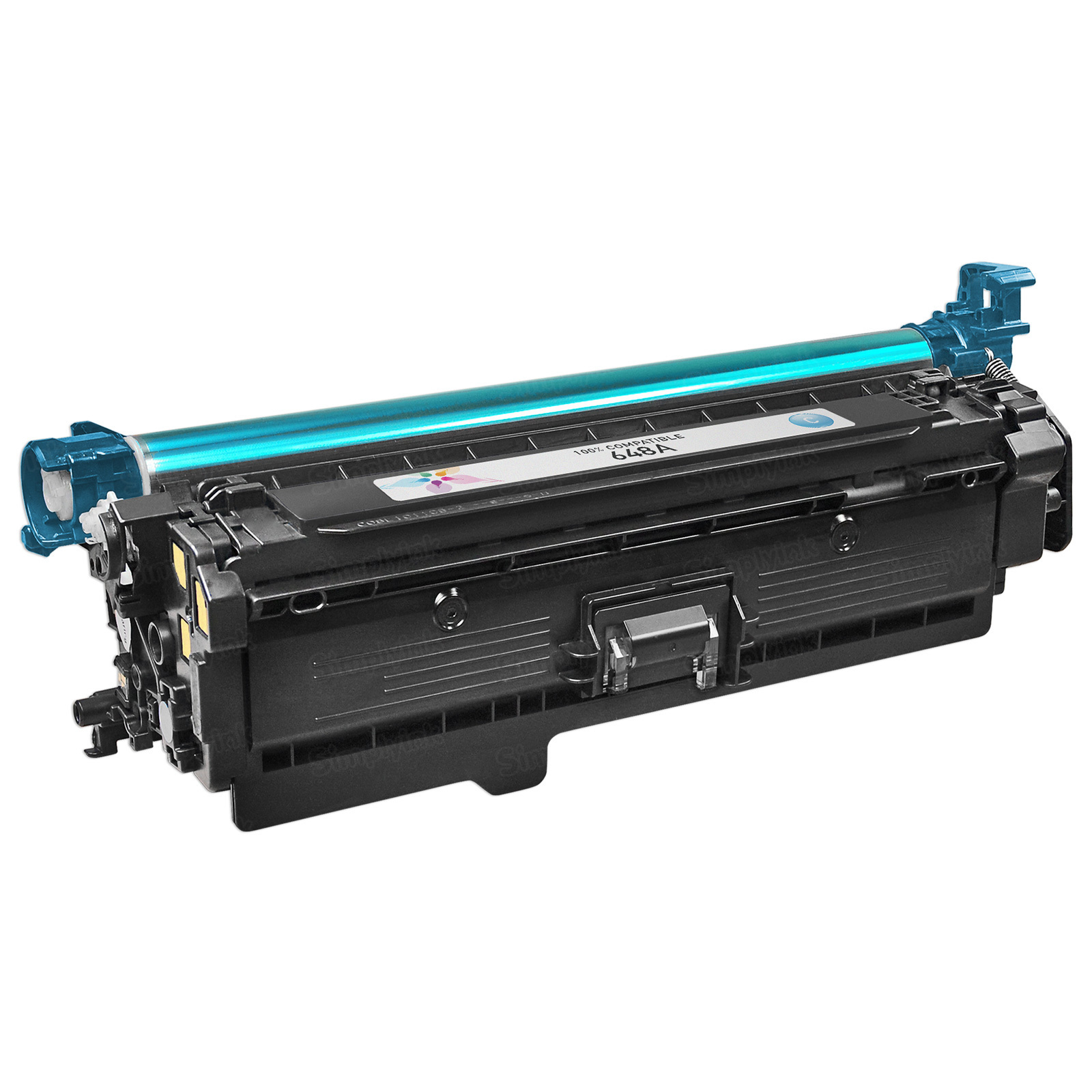 Remanufactured Replacement Cyan Laser Toner for HP 648A