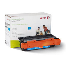 Xerox Premium Remanufactured Replacement Cyan Toner for the HP CF031A (646A) u2013 Made in the U.S.