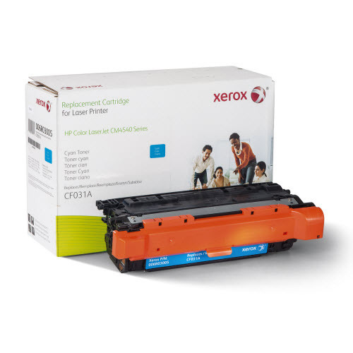 Xerox Remanufactured Cyan Laser Toner for Hewlett Packard CF031A