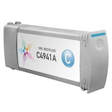 Remanufactured Replacement Ink Cartridge for Hewlett Packard C4941A (HP 83) Cyan