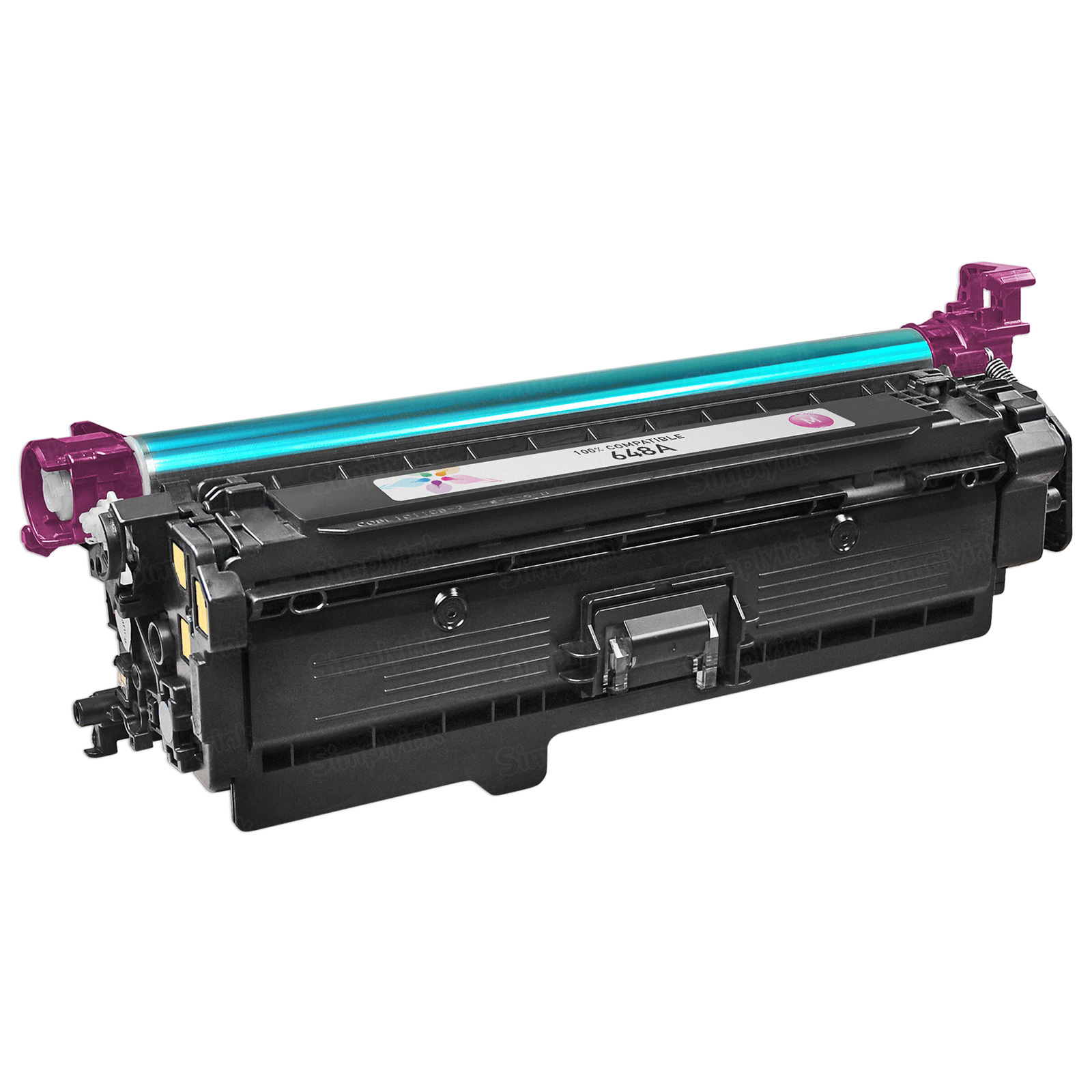 Remanufactured Replacement Magenta Laser Toner for HP 648A
