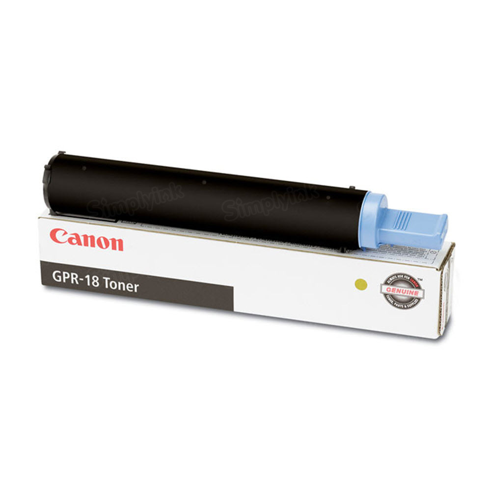 Canon GPR18 Black Toner Cartridge, OEM