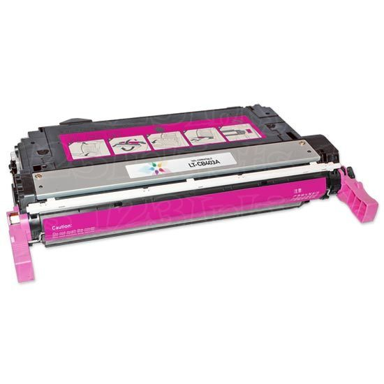 Remanufactured Replacement Magenta Laser Toner for HP 642A