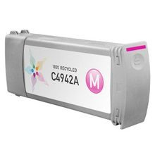 Remanufactured Replacement Ink Cartridge for Hewlett Packard C4942A (HP 83) Magenta