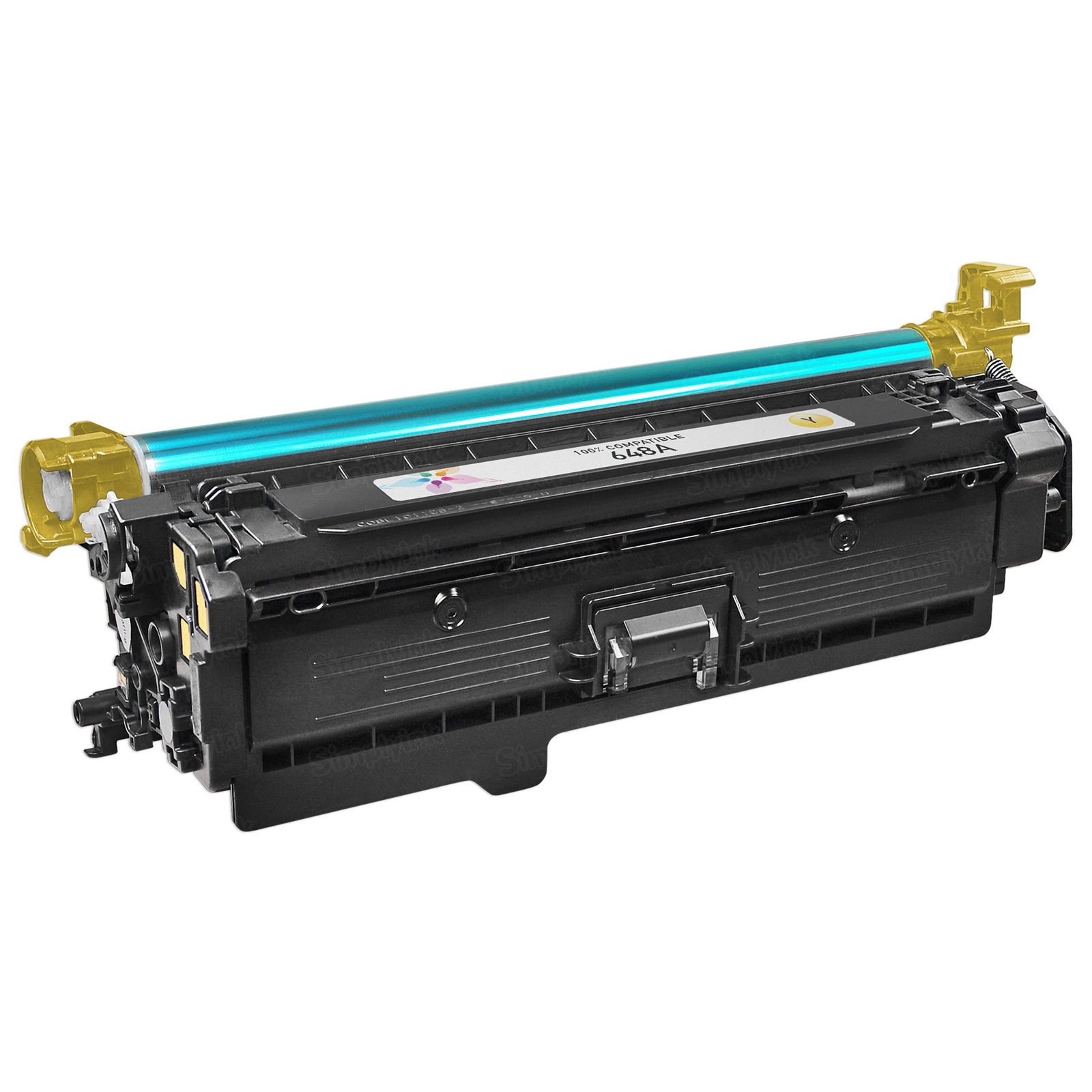 Remanufactured Replacement Yellow Laser Toner for HP 648A