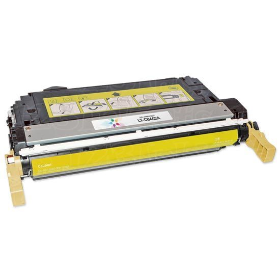 Remanufactured Replacement Yellow Laser Toner for HP 642A