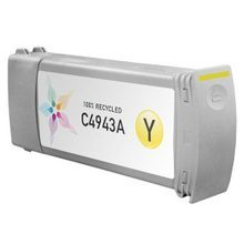 Remanufactured Replacement Ink Cartridge for Hewlett Packard C4943A (HP 83) Yellow