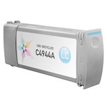 Remanufactured Replacement Ink Cartridge for Hewlett Packard C4944A (HP 83) Light Cyan