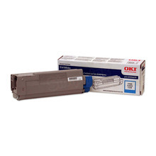 Okidata OEM Cyan 43324419 Toner Cartridge 5K Page Yield