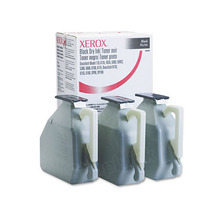 OEM (006R00206) Black Toneru00a0for Xerox Docuprint 100/135 (220,000 Page Yield) 3-Pack