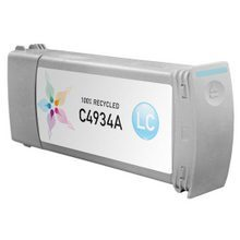 Remanufactured Replacement Ink Cartridge for Hewlett Packard C4934A (HP 81) Light Cyan