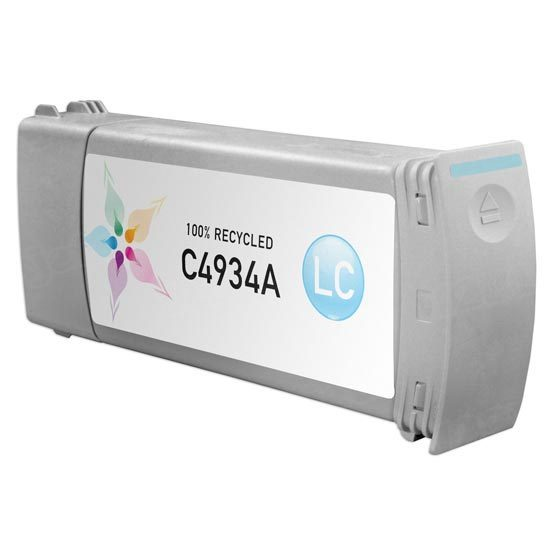 Remanufactured Replacement Light Cyan Ink for HP 81