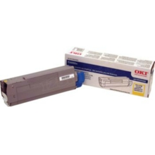 Okidata OEM Yellow 43324466 Toner Cartridge 4K Page Yield