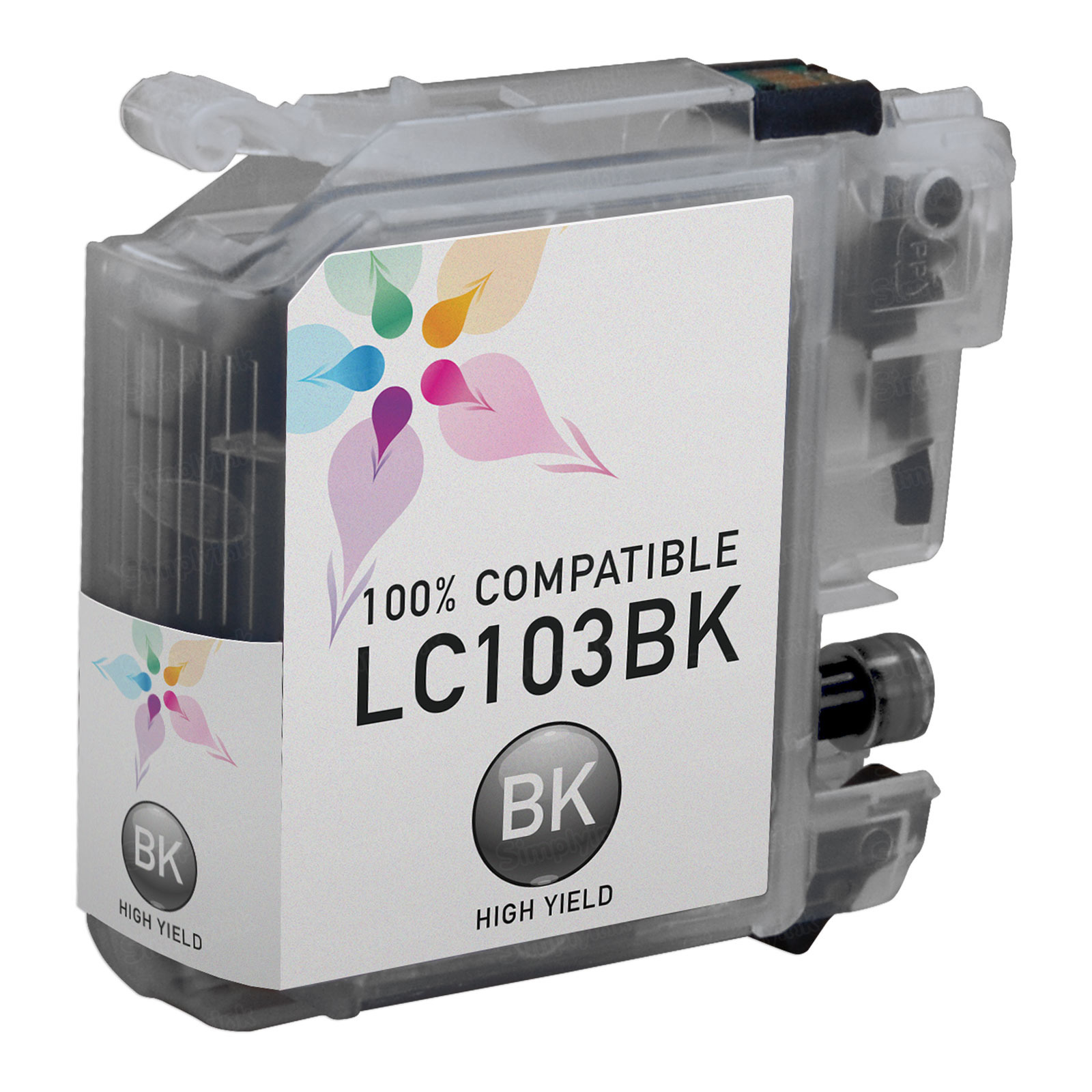 Brother Compatible LC103BK High Yield Black Ink