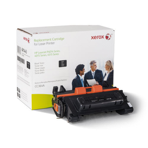 Xerox Remanufactured Black Laser Toner for Hewlett Packard CC364A