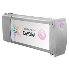 Remanufactured Replacement Ink Cartridge for Hewlett Packard C4935A (HP 81) Light Magenta
