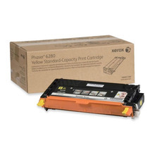 Xerox 106R01390 (106R1390) Yellow OEM Laser Toner Cartridge