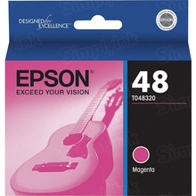 Original Epson 48 Magenta Inkjet Cartridge (T048320)