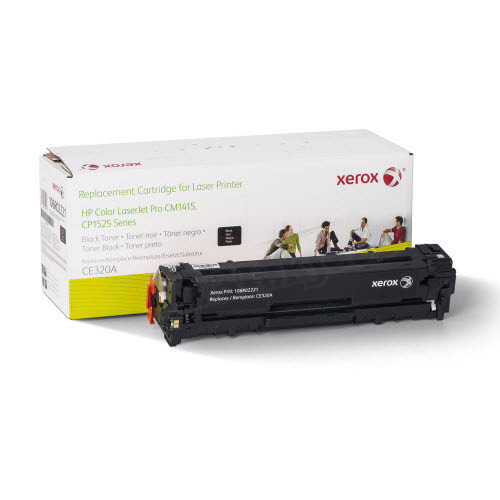 Xerox Remanufactured Black Laser Toner for Hewlett Packard CE320A