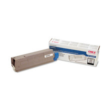 Okidata OEM Black 43324469 Toner Cartridge 5K Page Yield