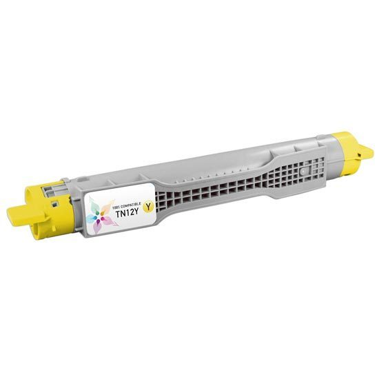 Brother Compatible TN12Y Yellow Toner for the HL-4200CN