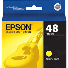 Original Epson 48 Yellow Inkjet Cartridge (T048420)